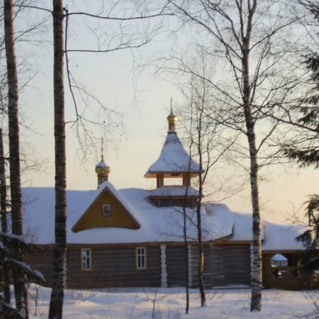 Фёдоровское. Храм в пос. Заповедный