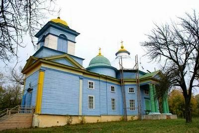 Свято-Никольский храм в с. Балыкино Брянской области