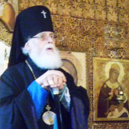 Архиерейское богослужение в Нелидове