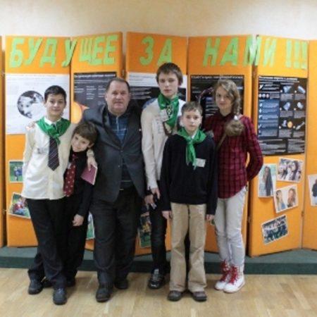 члены Нелидовского филиала МО «Православная молодёжь»